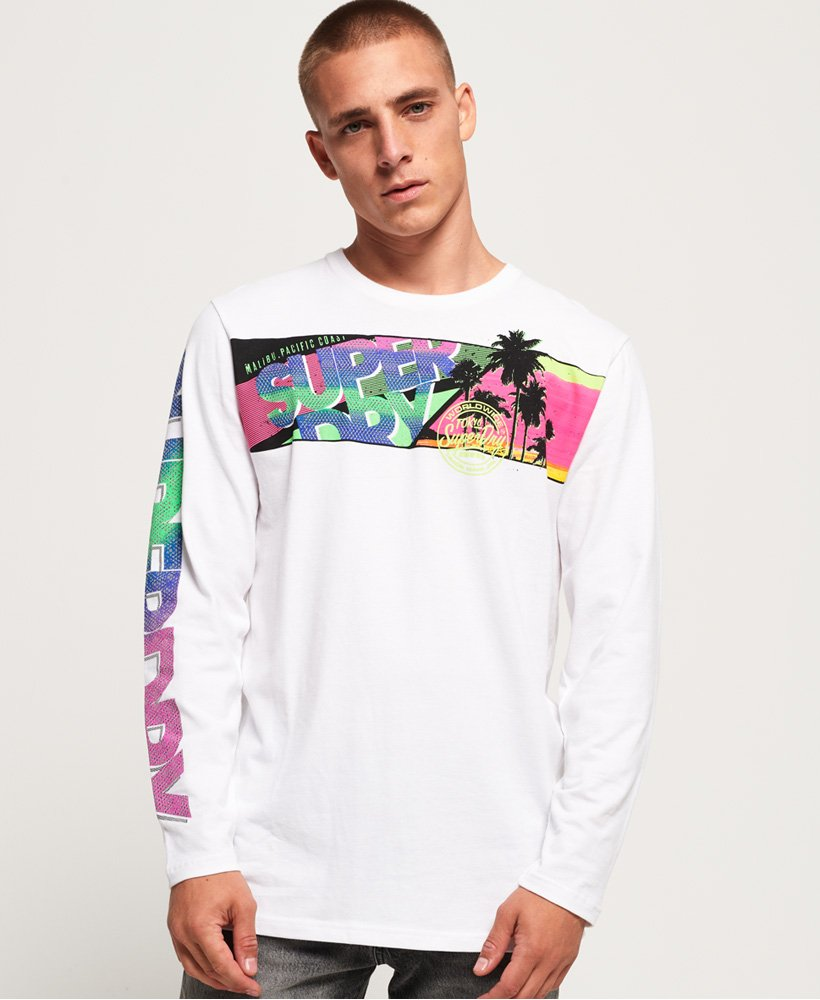 Superdry Acid Pacifica Oversize T-Shirt thumbnail 1