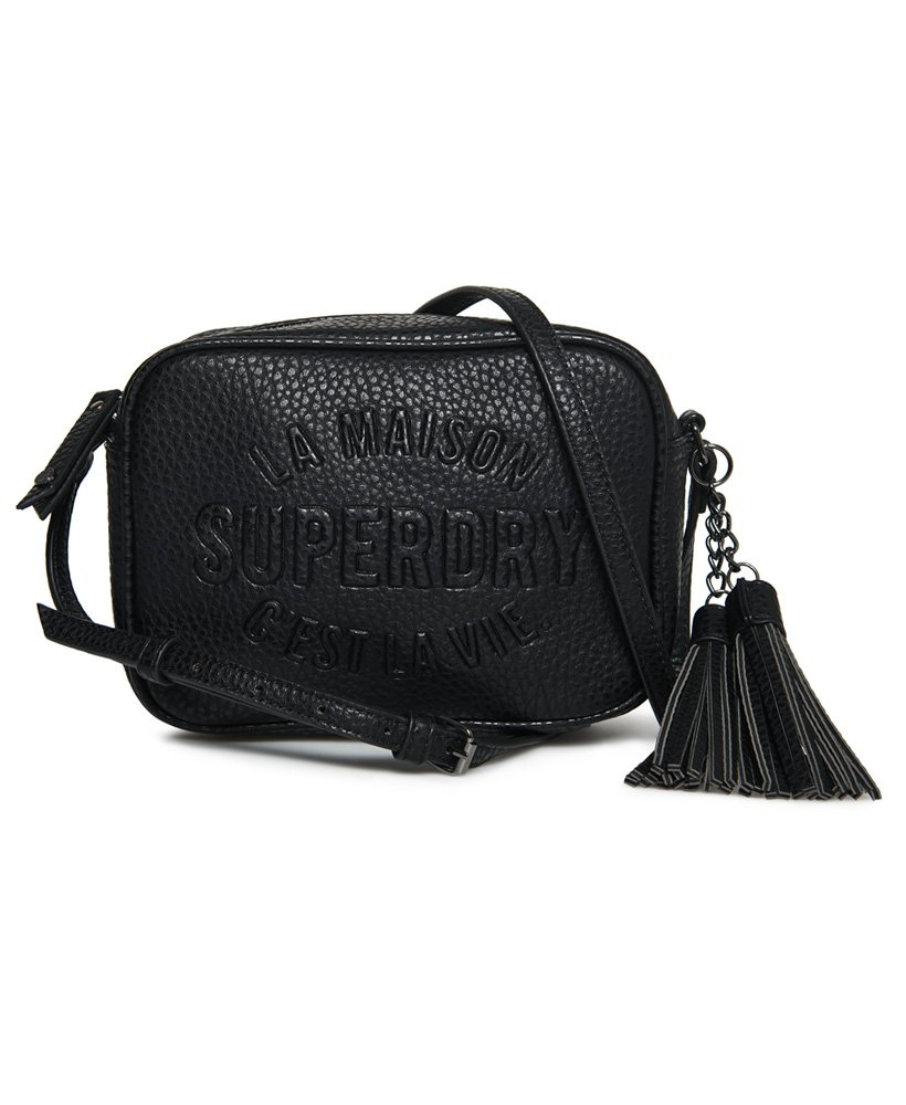 88028b4dd Womens - Delwen Cross Body Bag in Black | Superdry