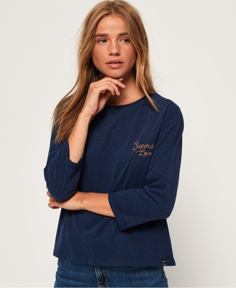 Superdry Esme Long Sleeve Top thumbnail 1