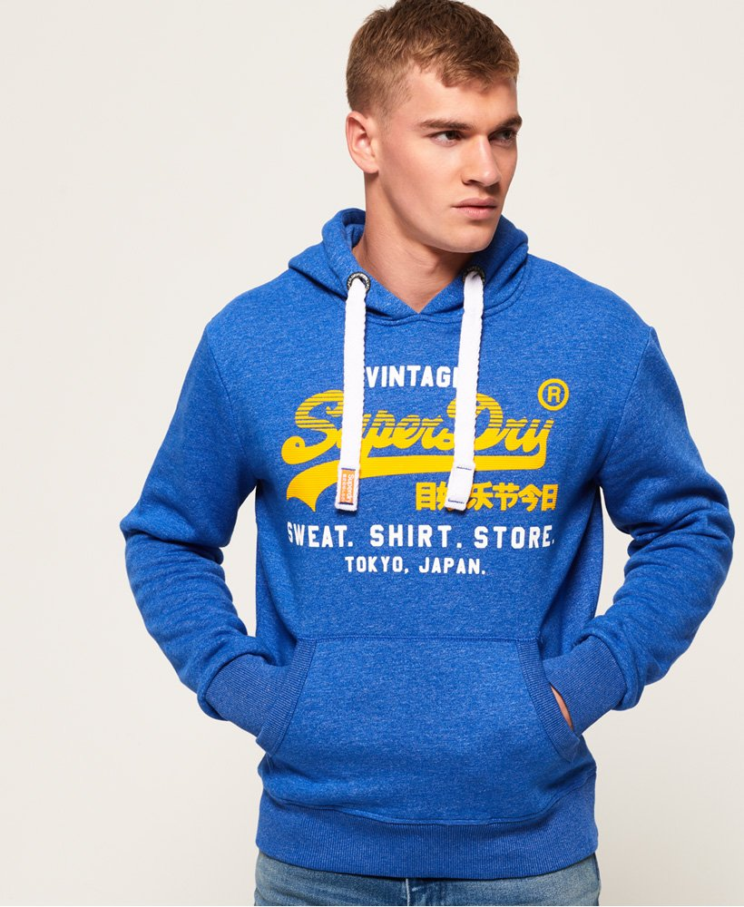 Superdry Real Logo 1st Hoodie  thumbnail 1