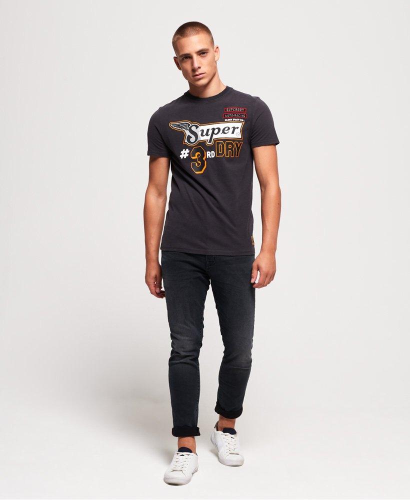 Superdry Custom 1334 T skjorte Herre T skjorter