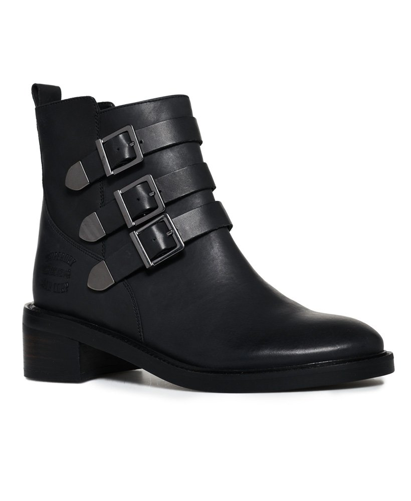 Superdry Cheryl Military Boots thumbnail 1