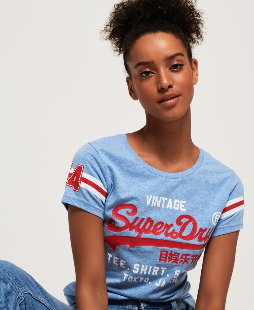 Superdry Shirt Shop Varsity T-Shirt thumbnail 1