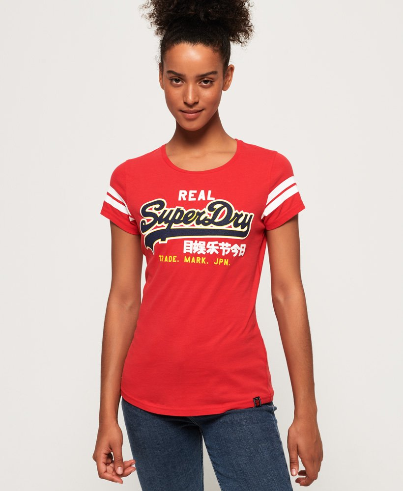 Superdry Vintage Logo Mock Applique T-shirt