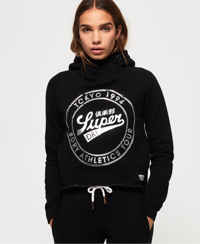 Superdry Ace Metallic-Kurzhoodie