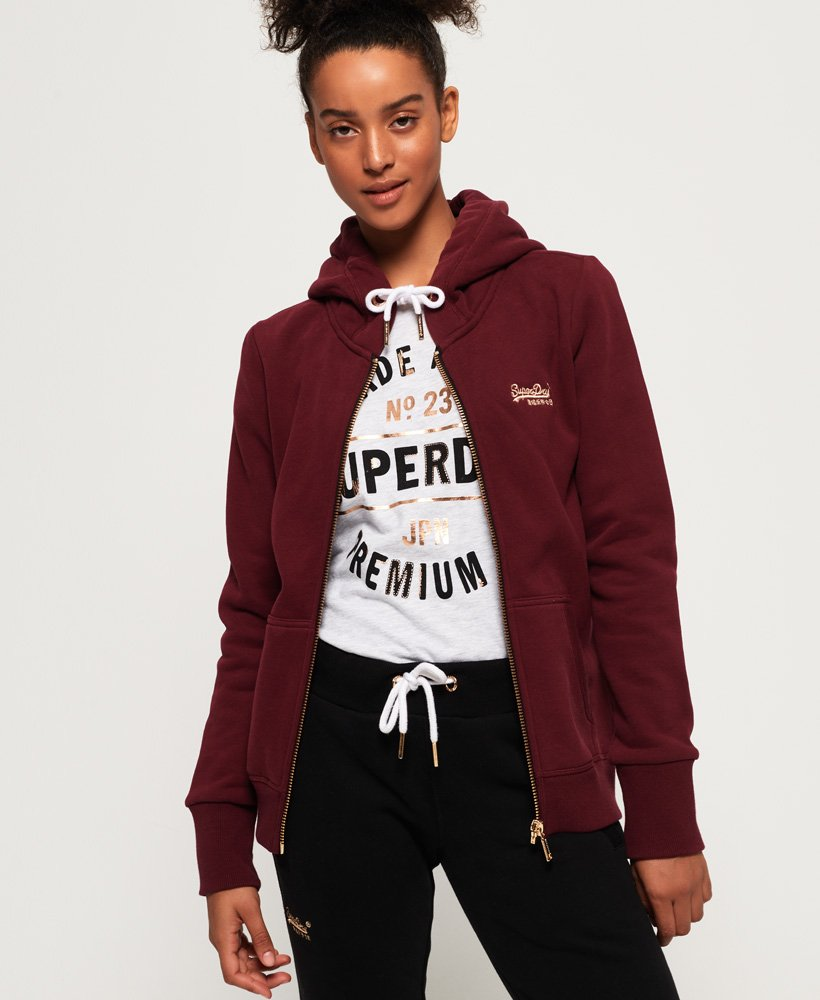 Superdry Orange Label Elite Zip Hoodie thumbnail 1