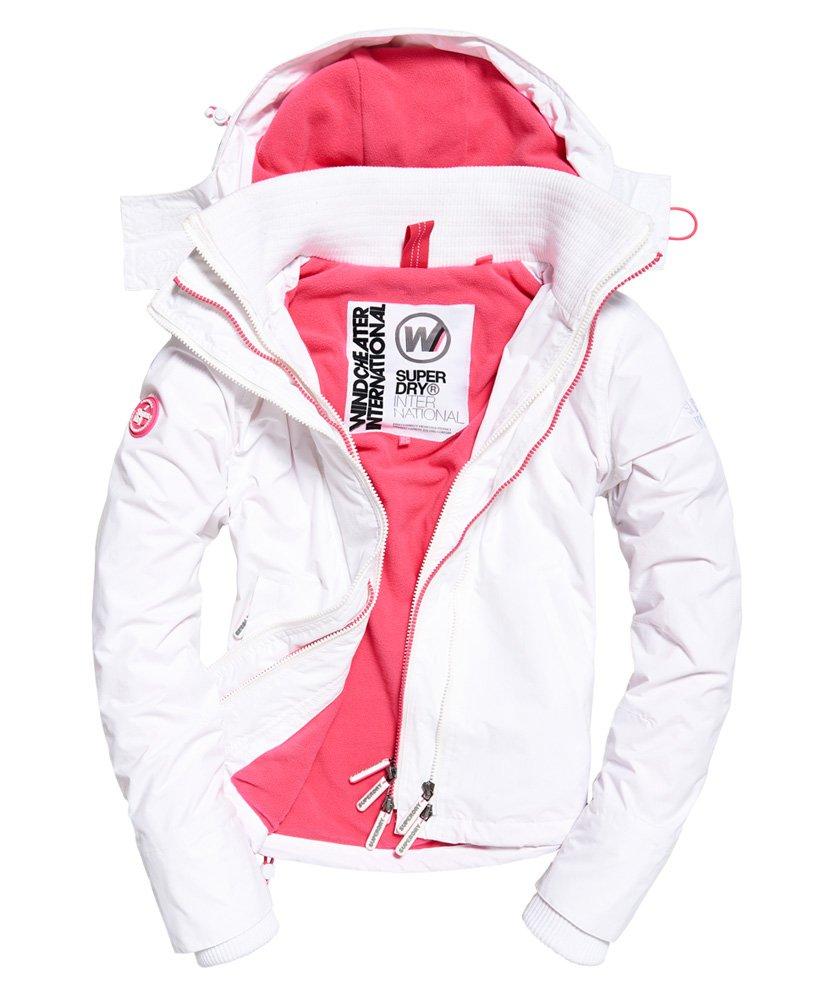 Arctic SD Windcheater jakke med hætte og farverig lynlås