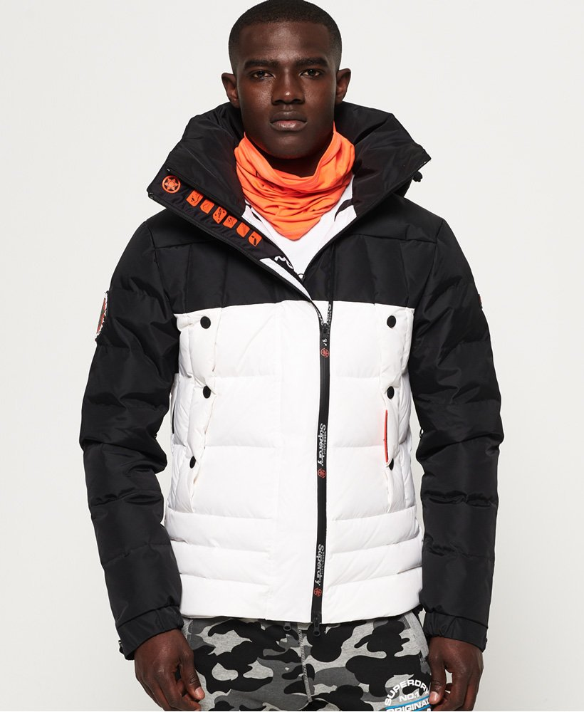 Superdry Super Canadian Ski Down Puffer Jacket  thumbnail 1