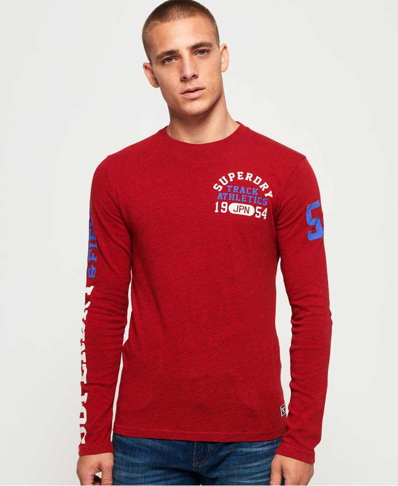 Superdry Track & Field Long Sleeve T-Shirt thumbnail 1