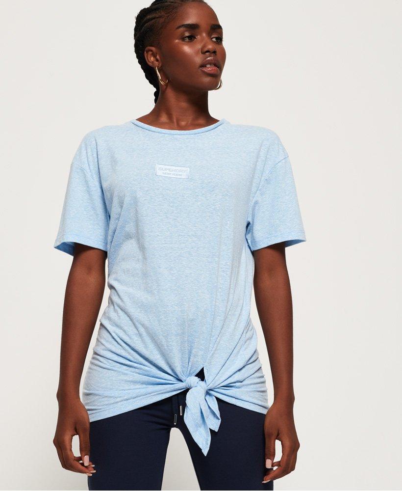 Superdry Alta T-shirt med knudedetalje