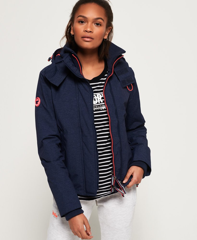 Superdry Arctic Hooded Pop Zip SD-Windcheater Jacket thumbnail 1