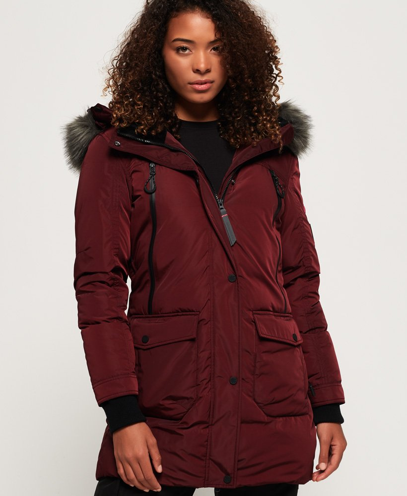 Superdry Antarctic Explorer Down Parka Jacket thumbnail 1