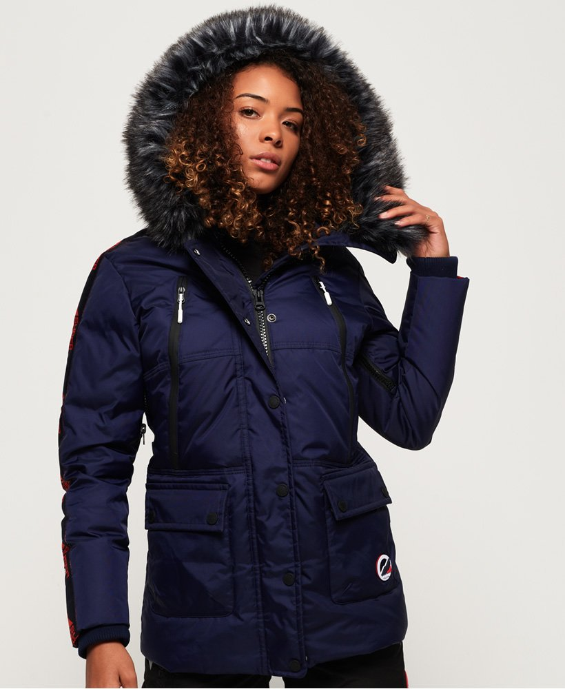 Superdry Canadian Mountain Range Down Parka Jacket thumbnail 1
