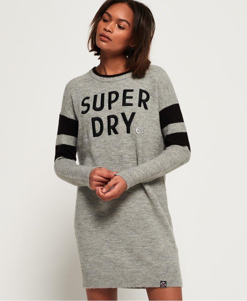 Superdry Scandi sweaterkjole i strik