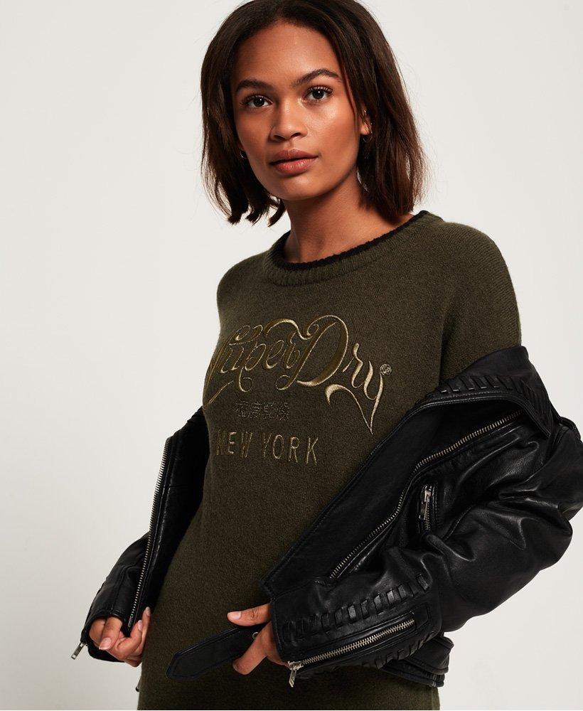 Superdry Womens Scandi Knit Sweater Dress