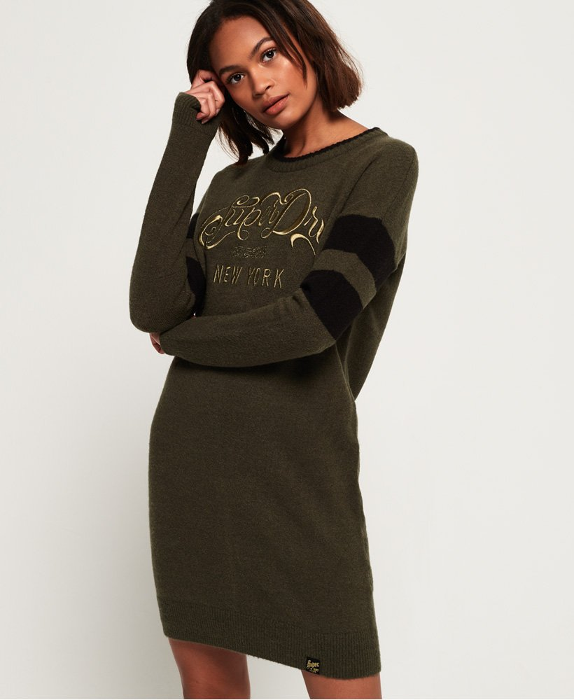 Superdry Scandi Knit Sweater Dress