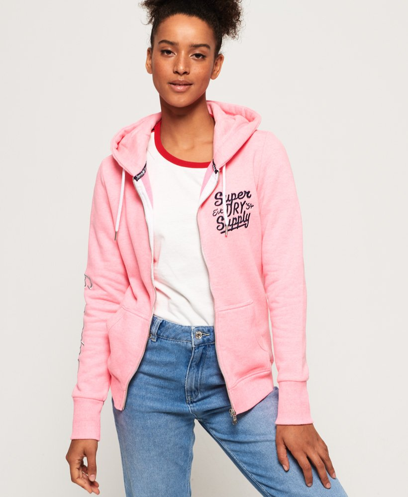 Superdry Dallas Zip Hoodie thumbnail 1