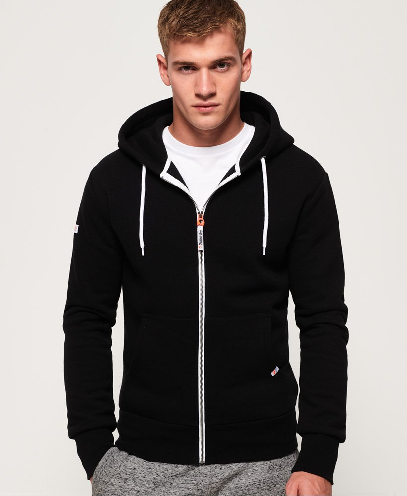 Superdry LA Athletic Zip hættetrøje