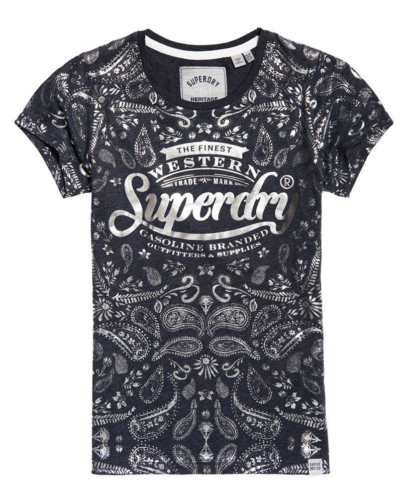 Superdry Damen Gasoline T-Shirt