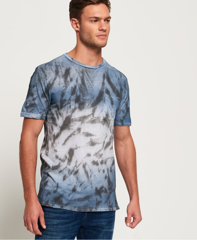 Superdry T-shirt délavé long Hoxton  thumbnail 1