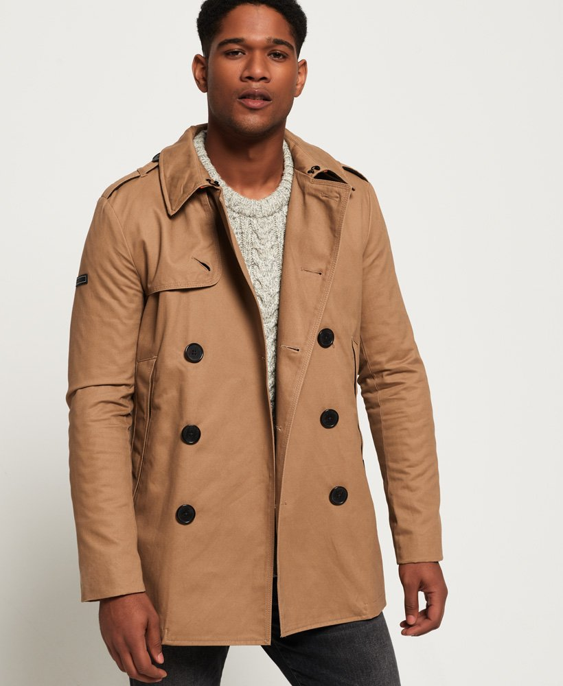 Superdry Remastered Rogue Trench Coat  thumbnail 1