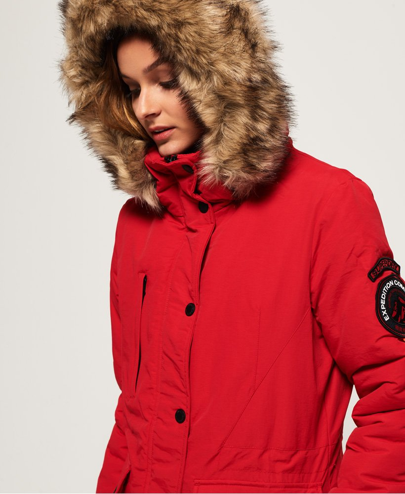 0e63fb288d Womens - Ashley Everest Jacket in Red | Superdry