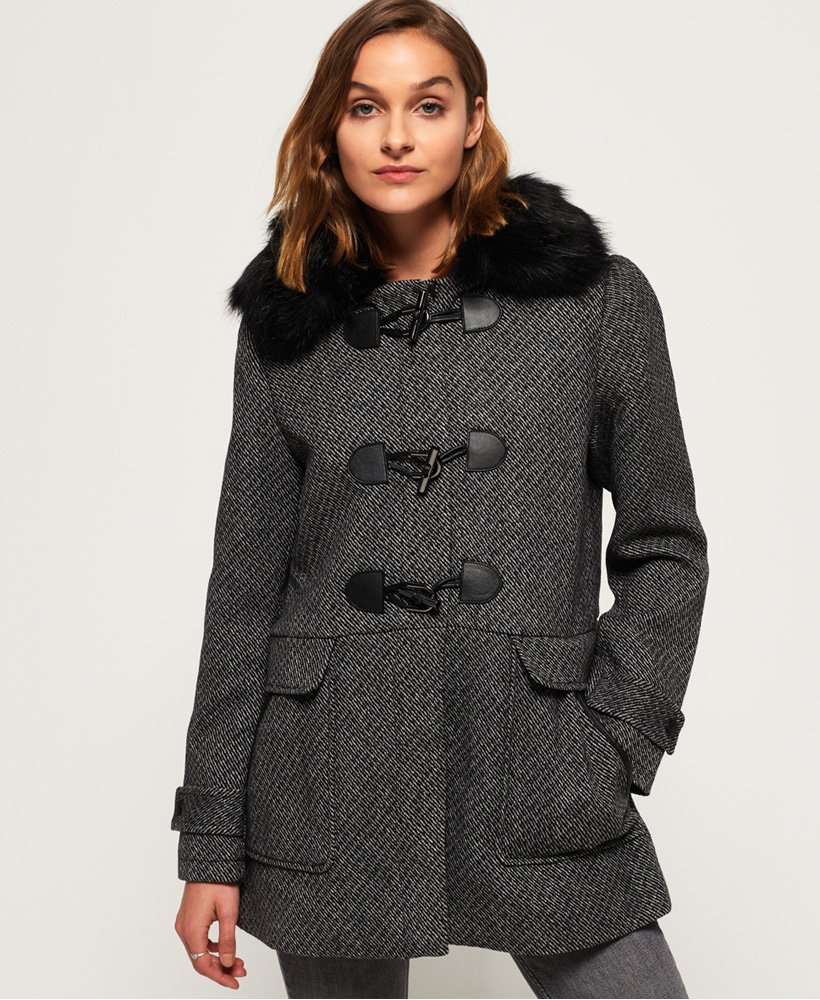 Superdry Brooklyn Duffle Coat thumbnail 1