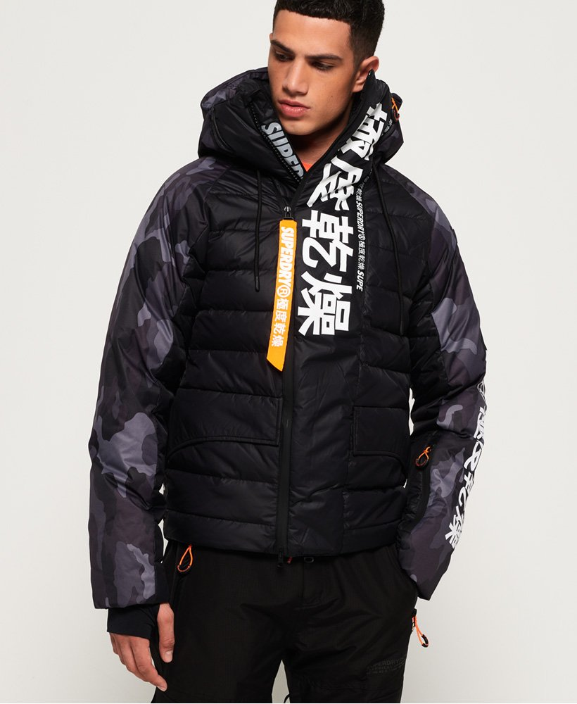 Superdry Japan Edition Snow donsjack  thumbnail 1