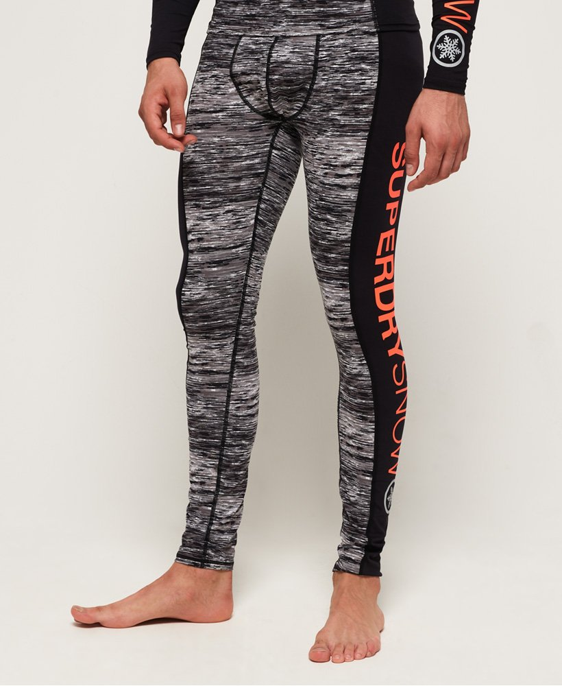 Superdry Leggings con strato base in fibre di carbonio