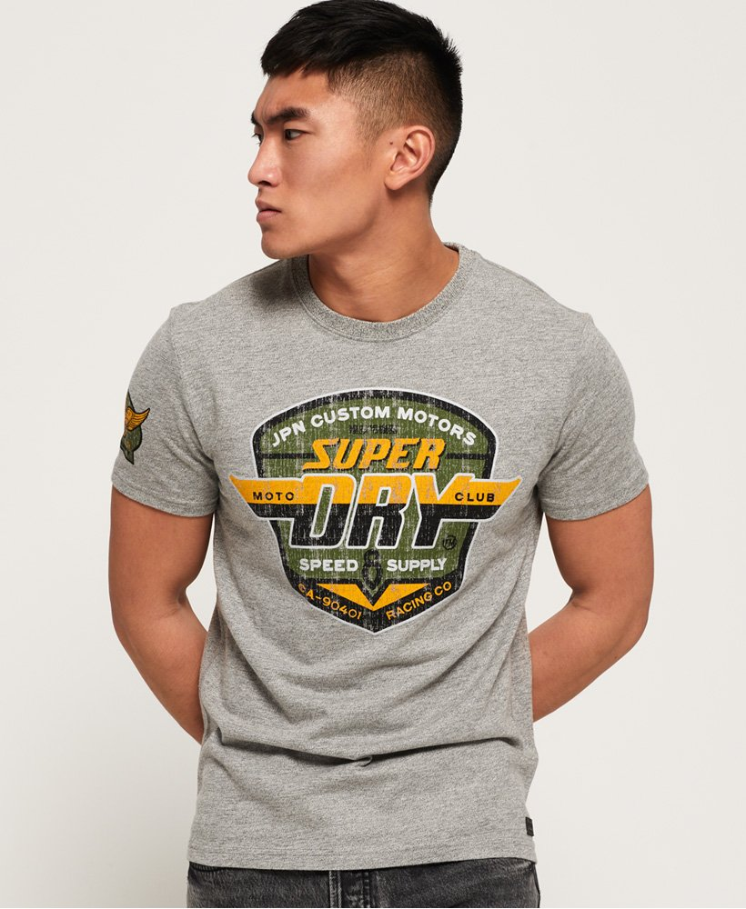 Superdry Custom Tin Tab T-Shirt thumbnail 1