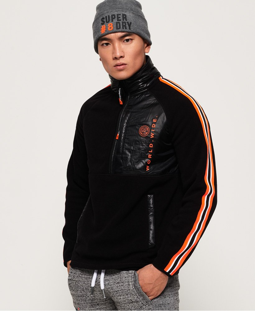 Superdry Mountain Polar Fleece Half Zip Jacket thumbnail 1