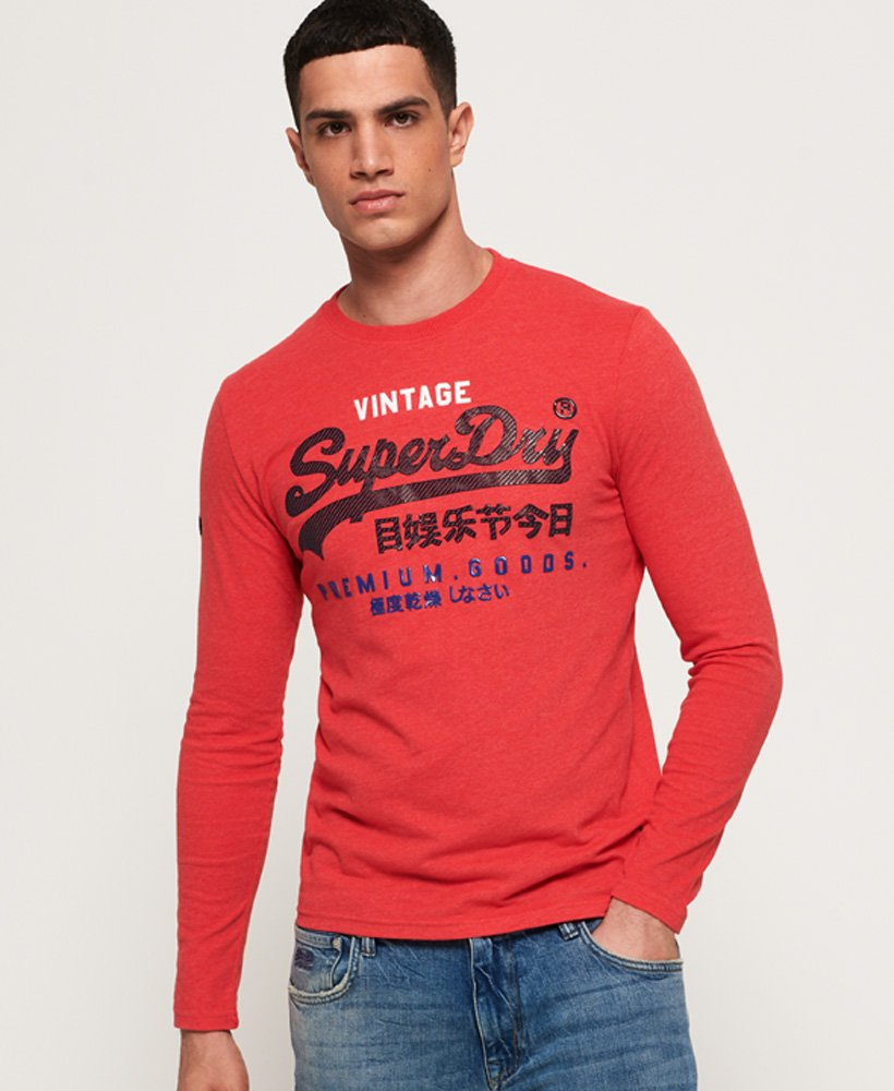 Superdry Premium Goods Infill Long Sleeve T-Shirt thumbnail 1