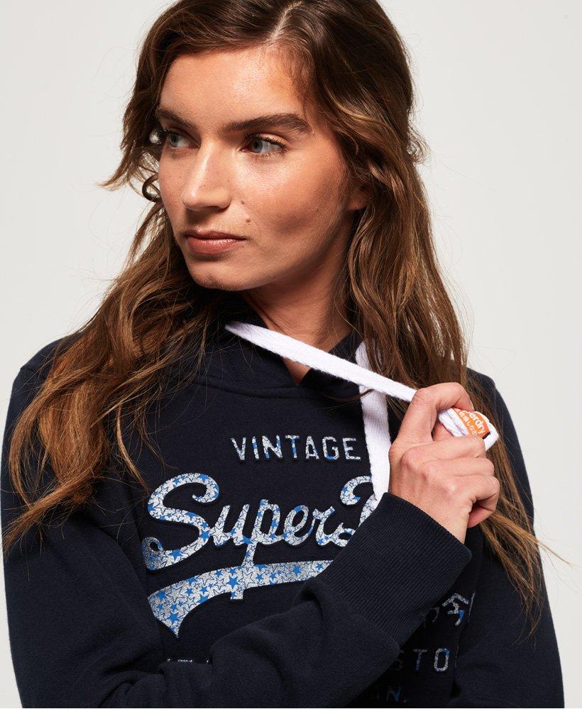 Superdry Shirt Shop Infill Emboss Hoodie thumbnail 1
