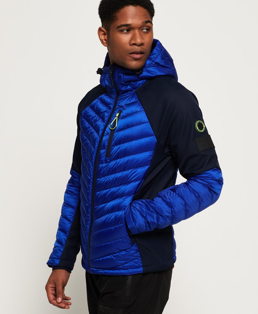 Superdry Kiso Padded Racer Jacket thumbnail 1