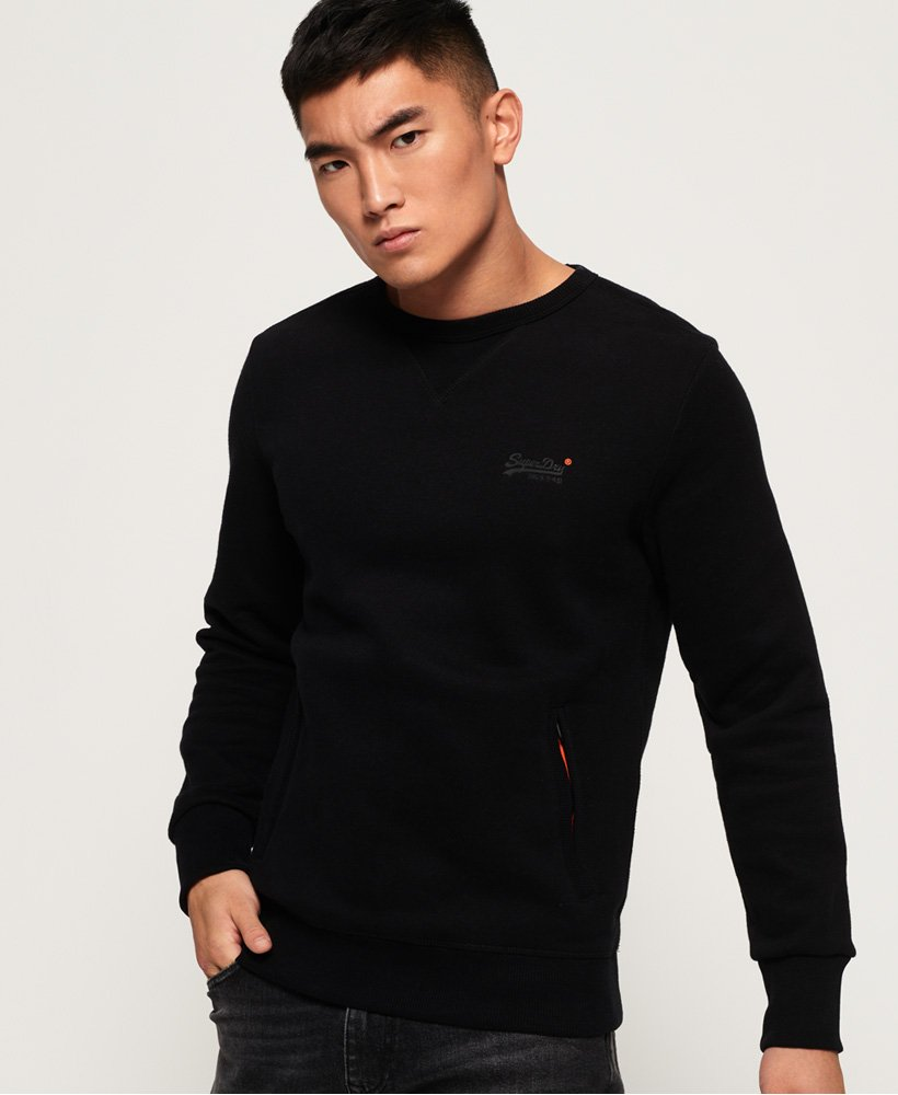 Superdry Orange Label Urban rundhalsad sweatshirt thumbnail 1