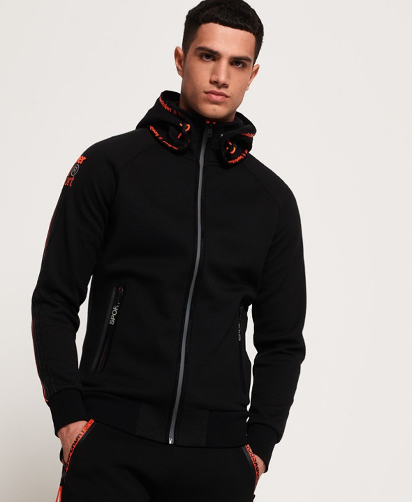 Superdry Gym Tech Sport Snorkel Zip Hoodie thumbnail 1
