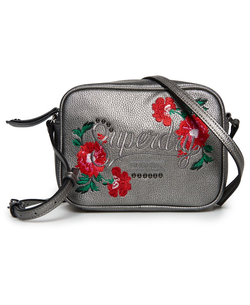 7d848faa4 Womens - Delwen Cross Body Bag in Metallic Pewter | Superdry
