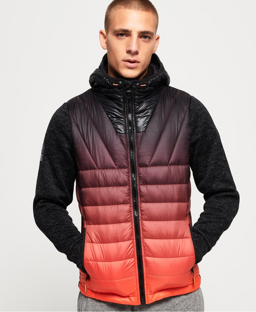 Superdry Storm Ombre Hybrid Zip Hoodie thumbnail 1