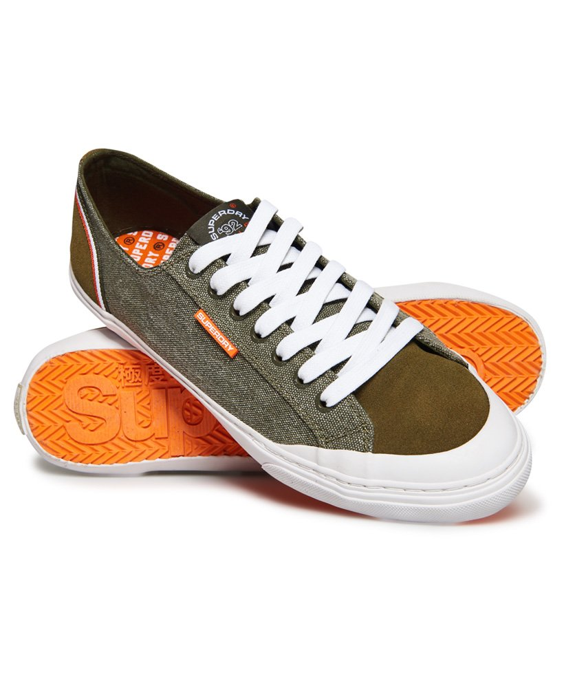 Superdry Retro Low Pro Trainers thumbnail 1