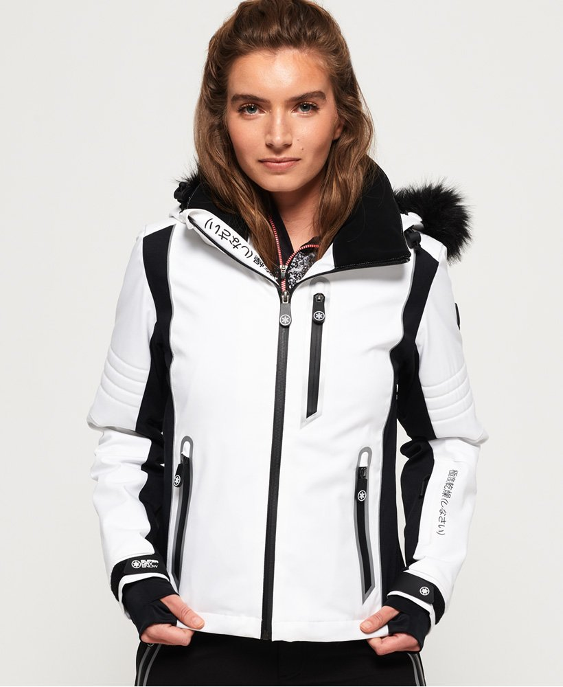 Superdry Sleek Piste Skijacke thumbnail 1