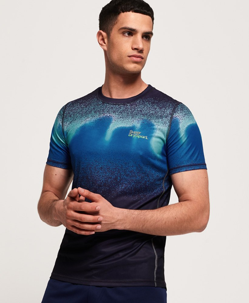 Superdry Active Ombre T-Shirt thumbnail 1