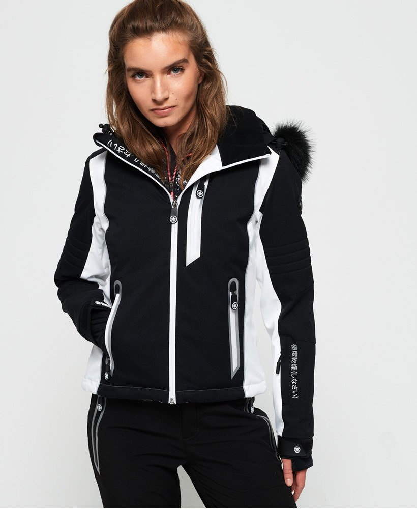 Superdry Sleek Piste-skijakke