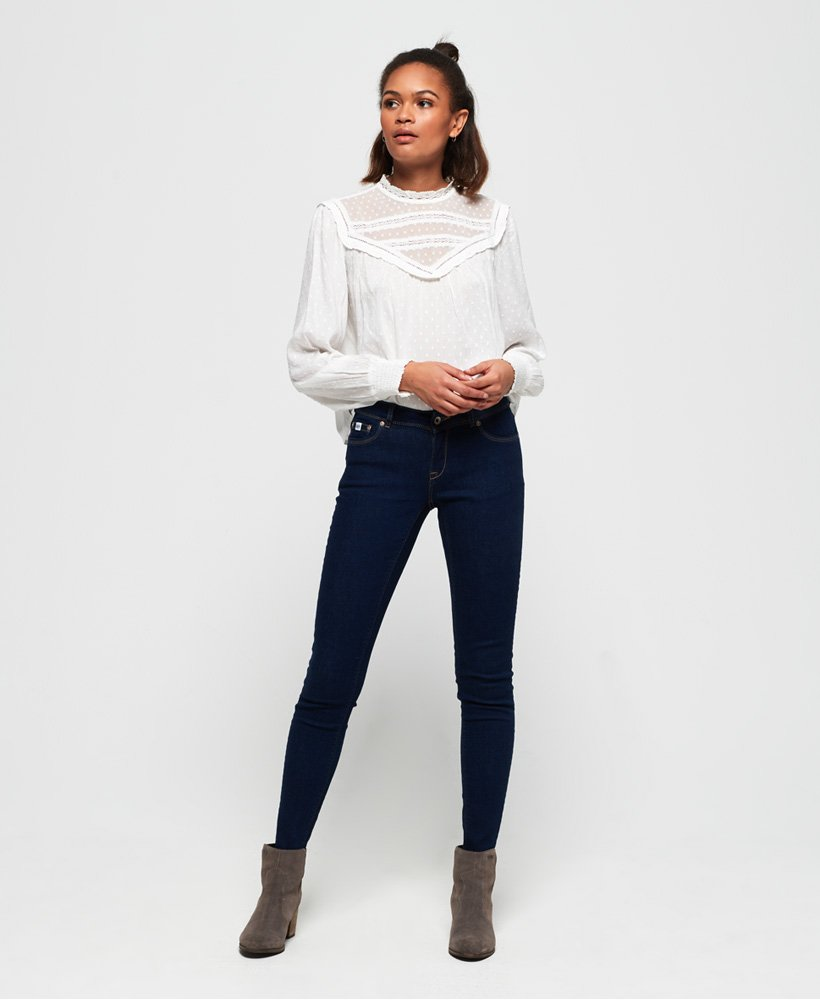 Superdry Vaqueros skinny fit Cassie thumbnail 1
