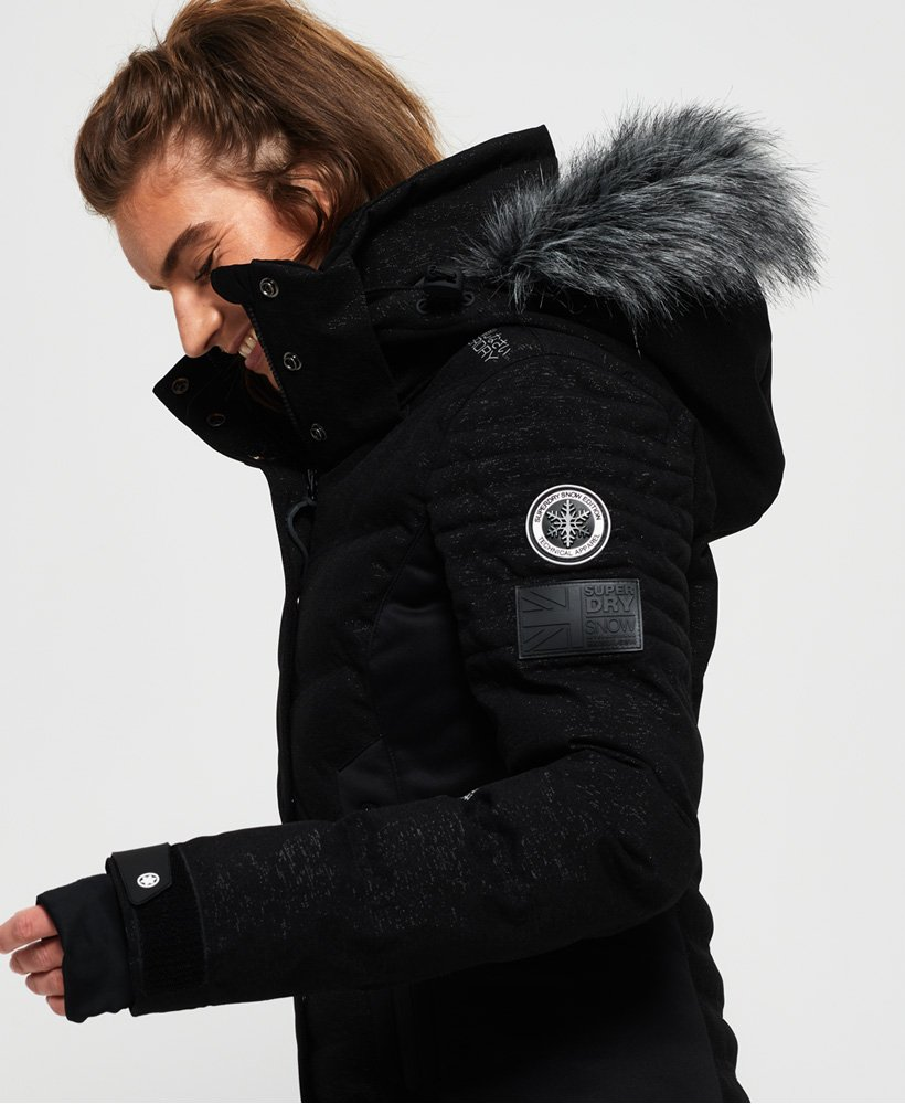 Superdry Luxe Snow Puffer Jacket Women's Jackets and Coats