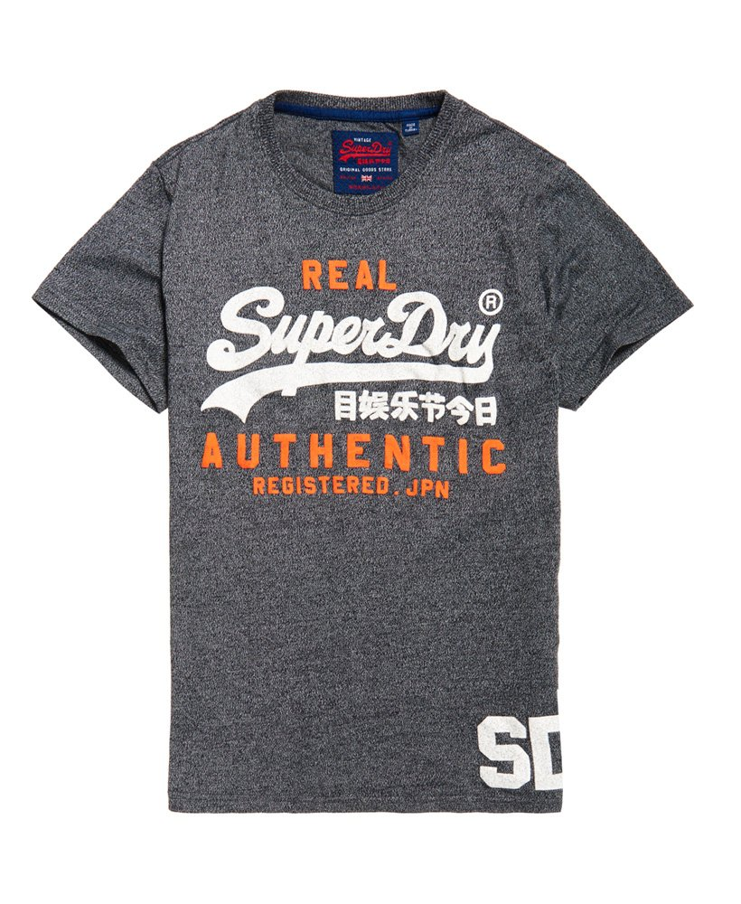 superdry vintage authentic duo t shirt herren t shirts. Black Bedroom Furniture Sets. Home Design Ideas