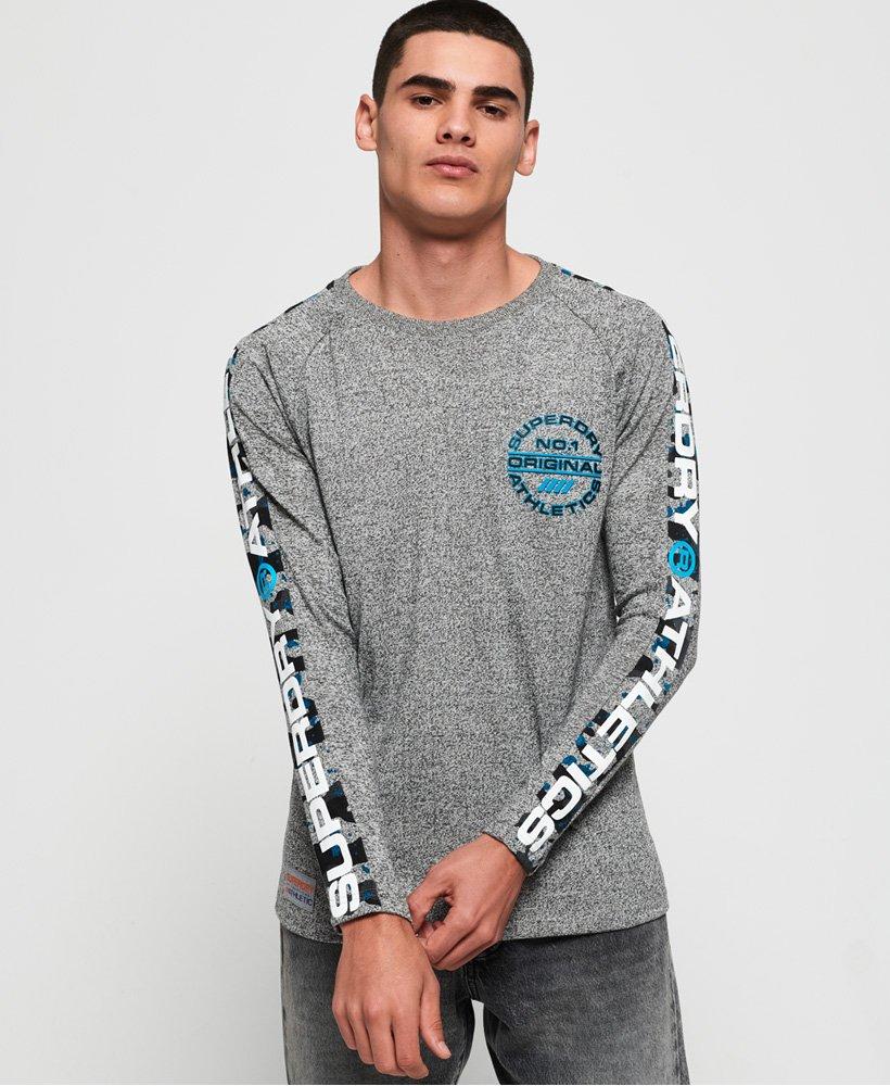 Superdry Trophy Camo Splat T-shirt met lange mouwen  thumbnail 1