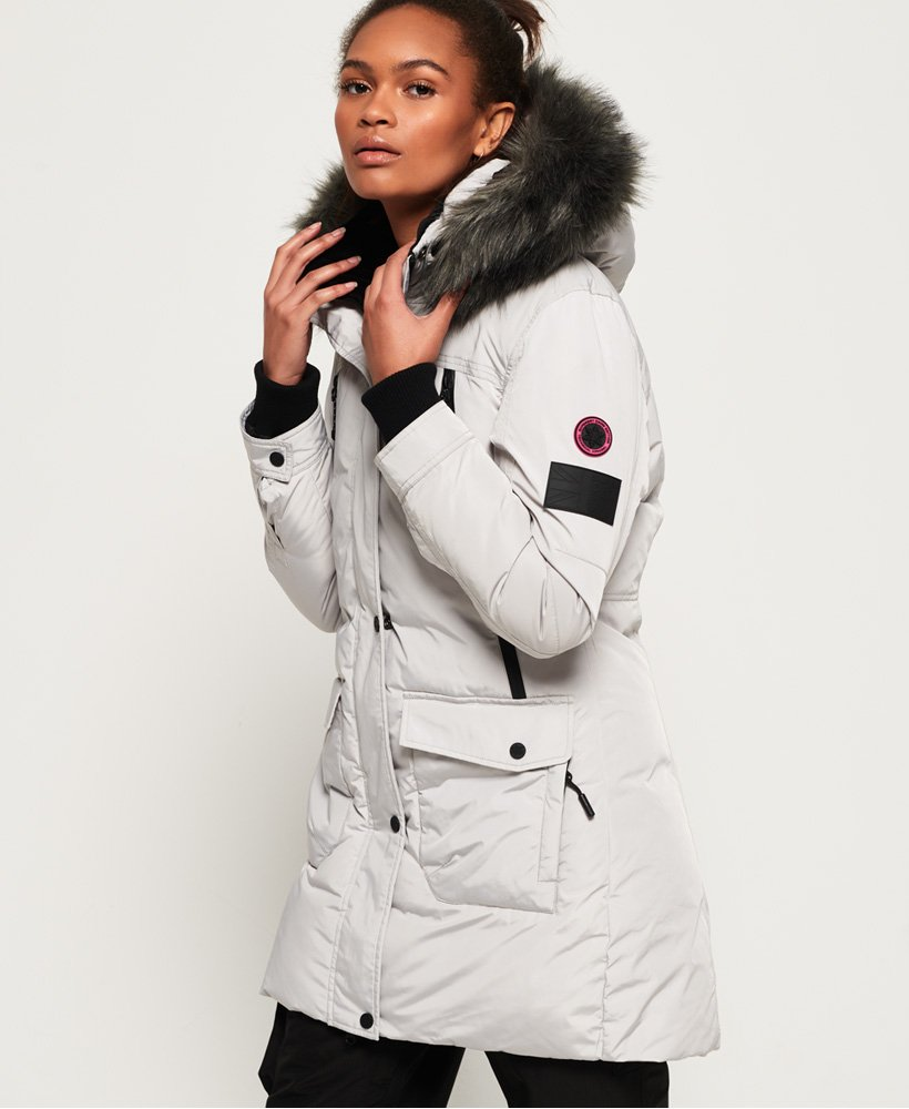 Superdry Antarctic Explorer Down-parkasjakke