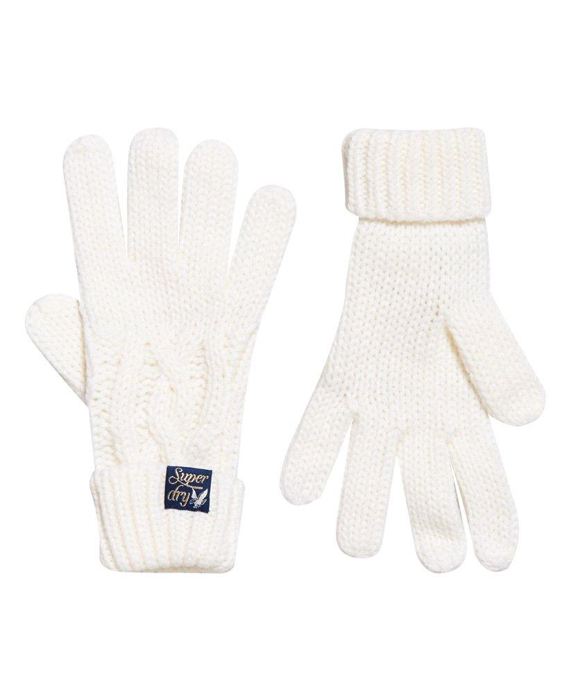 Superdry Arizona Cable Gloves thumbnail 1