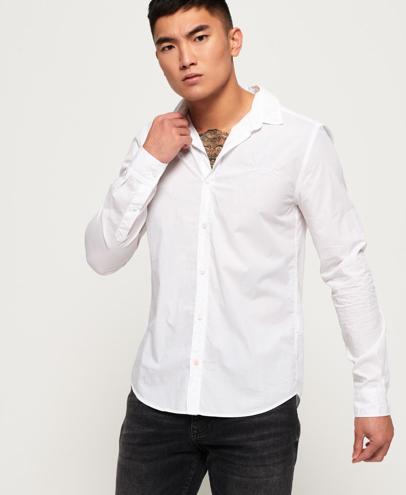 Premium Paperweight Button Down Shirt by Superdry