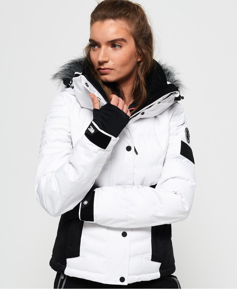 Superdry Luxe Snow Pufferjacke thumbnail 1